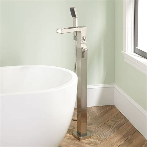free standing tub faucet signature hardware dario freestanding tub faucet with