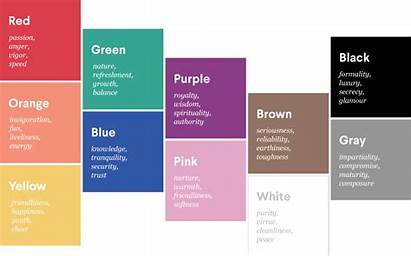Colors Psychology Presentations Choose Technology Accounting Brand