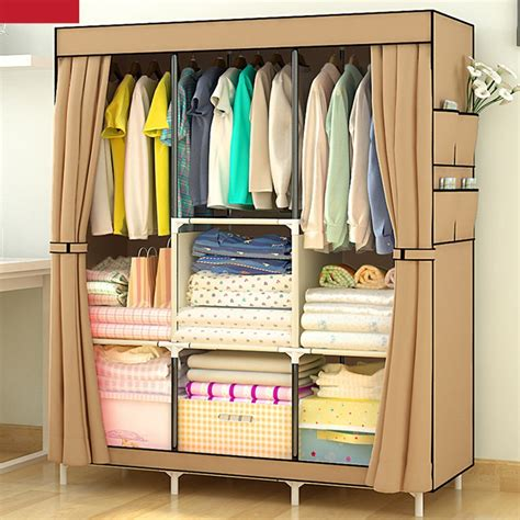 aliexpress buy sale non woven assembled wardrobe