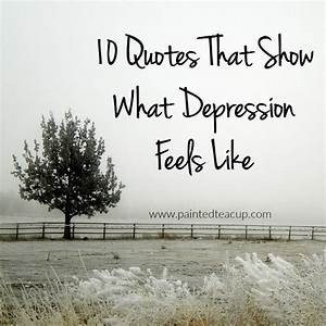 Living with depression is can be very isolating and scary ...