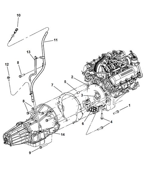 2007 Dodge Nitro Engine Diagram by 53013591ae Genuine Mopar Transmission Filler