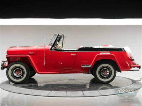 willys overland jeepster roadster  overdrive