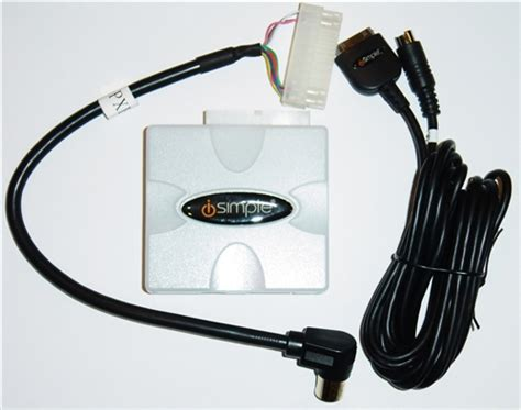 peripheral isimple pxdp pxhch2 chrysler ipod iphone adapter