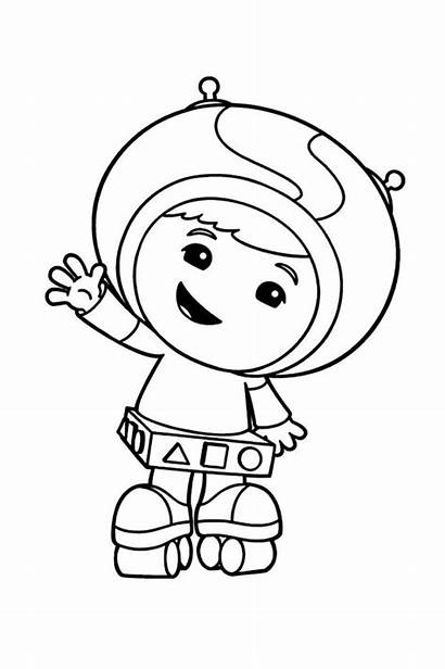 Umizoomi Coloring Team Pages Geo Printable Fun