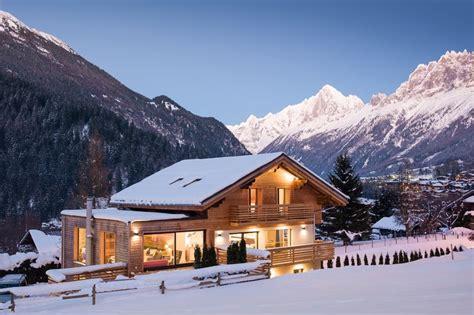 self catering ski chalet in the alps ref 74012