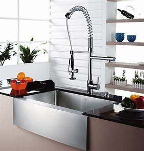 Modern Industrial Kitchen Sink and Faucet