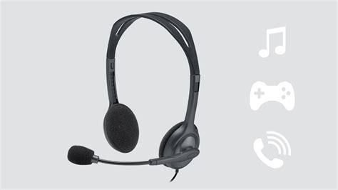 Logitech Headset H 111 Stereo logitech stereo headset h111