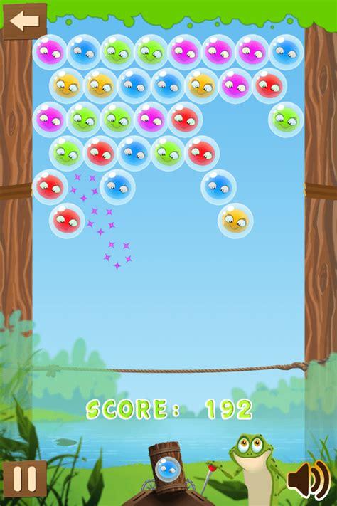 frog bubble match   frog match   bubbles