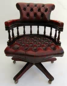 antiques atlas chesterfield swivel captains chair