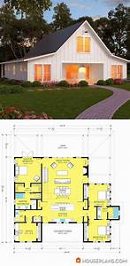 the 25 best barn style house plans ideas on pinterest With 40x50 pole barn cost