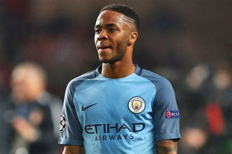 raheem sterling manchester city star fit  face arsenal
