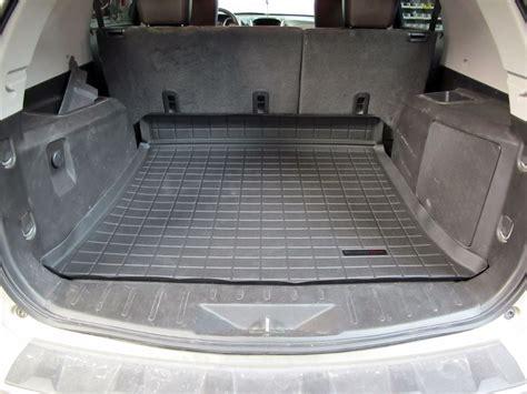 Chevy Equinox Floor Mats 2013 by Weathertech Cargo Liner Black Weathertech Floor Mats Wt40442