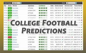 2018-2019 College Football Week 14 Predictions on ...