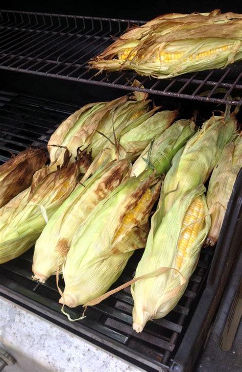 grilled corn in husk grilled salmon in corn husks recipe dishmaps