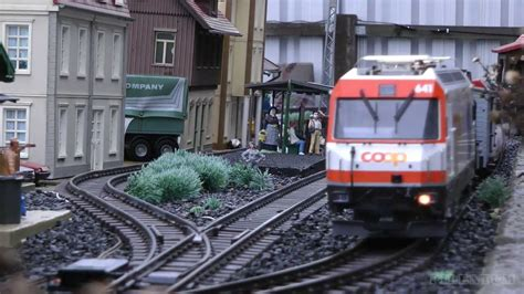Lgb Model Trains  Outdoor Model Railroad Layout In G
