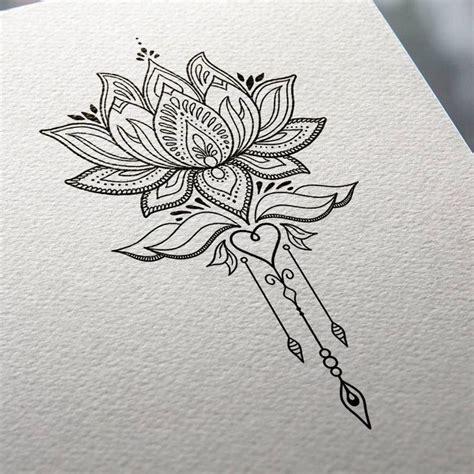 mandala tattoo ideas  pinterest lotus mandala
