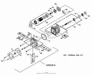 Bunton  Bobcat  Ryan 930325a Ec Power Unit 15hp Kawasaki Hydro Drive Parts Diagram For Hydrogear