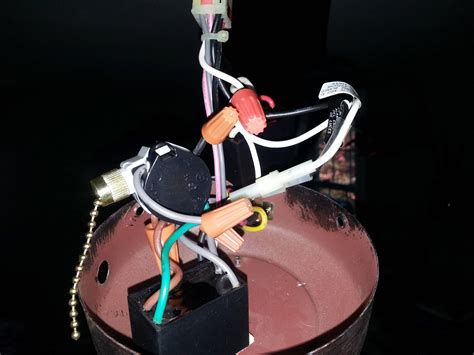 Ceiling Fan Pull Switch 4 Wires by Electrical Is There A Way To Diagnose Ceiling Fan 3