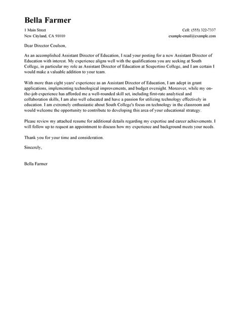 How To Write An Education Cover Letter leading education cover letter exles resources
