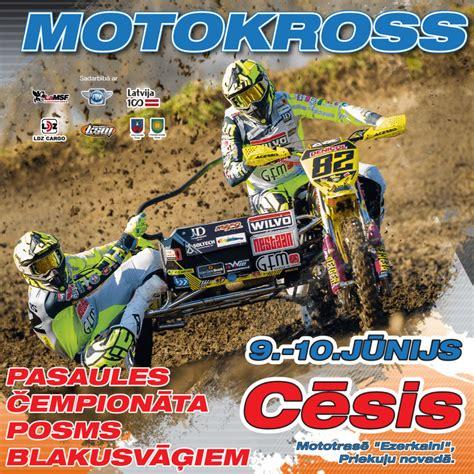Pasaules blakusvāģu motokrosa elite atgriežas Cēsīs - LaMSF.lv