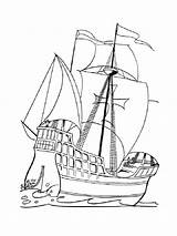 Pirate Ship Coloring Pages Boys Printable Recommended Colors Sea Mycoloring sketch template