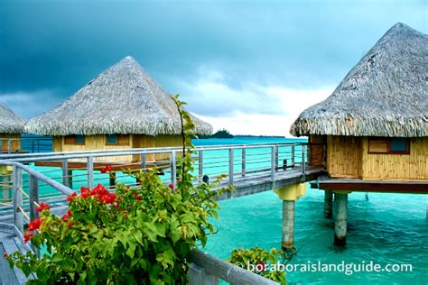 Bora Bora Overwater Bungalows At Bora Bora Resorts