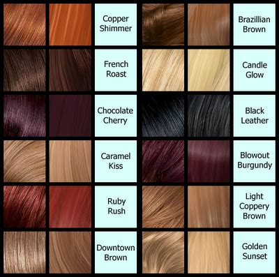 Hair Color Name And Picture by What Color Is Calling Your Name This Summer Hair