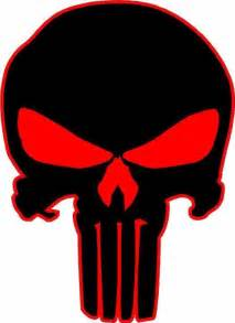 Punisher Skull Vinyl Decal Sticker