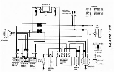cc wire harness wiring cdi embly atv quad