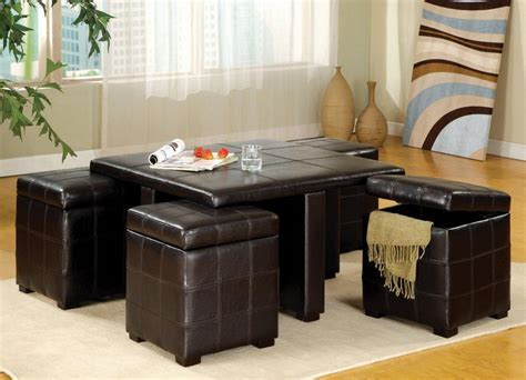 52.06 kb, 236 x 354. Coffee Table With Pull Out Ottomans   Roy Home Design