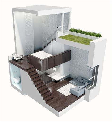 modern spacious tiny house design manhattan micro loft
