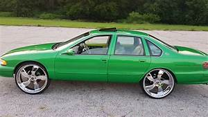 1996 Chevy Impala Ss Candy Green On 26 U0026quot  Rucci U0026 39 S