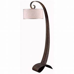 kenroy home remy 64 in smoked bronze floor lamp 20091smb With kenroy home 20091smb remy floor lamp smoked bronze