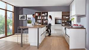Küche Modern Mit Kochinsel : moderne k chen l form mit insel ~ Bigdaddyawards.com Haus und Dekorationen