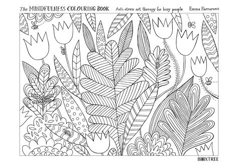 Mindfulness Colouring Free Printables