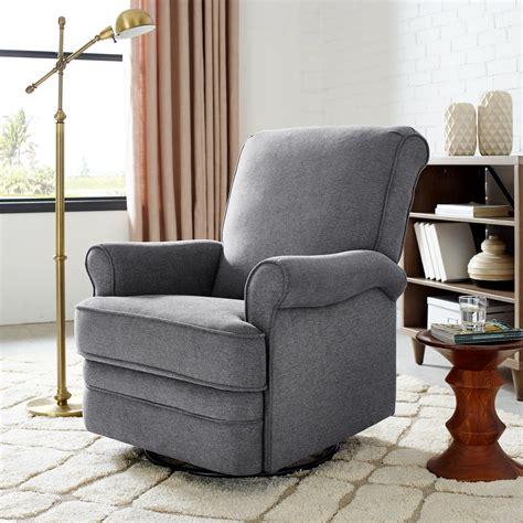 manhattan swivel reclining glider chair classic brands