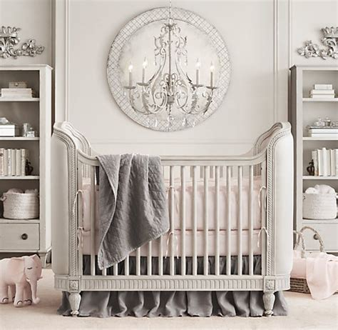 restoration hardware crib get gorgeous with an upholstered crib crown interiors