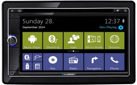 android radio blaupunkt launches its android based automotive radio