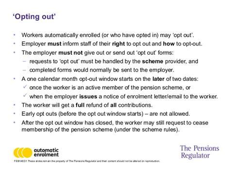 auto enrolment part  employer duties