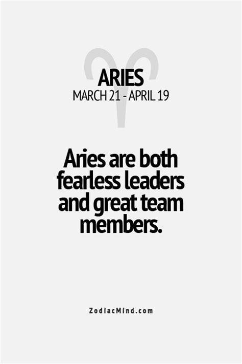 Aries Fun Facts