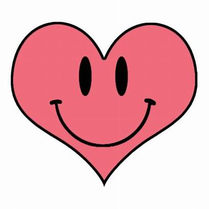 Heart Clipart Smiling Pink Smile Cliparts Sweetheart