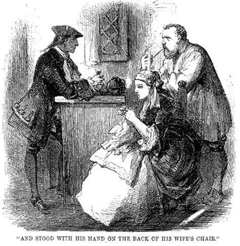 Tale Two Victorians by Quot Defarge Quot By Harry Furniss Fifth Illustration For Quot A