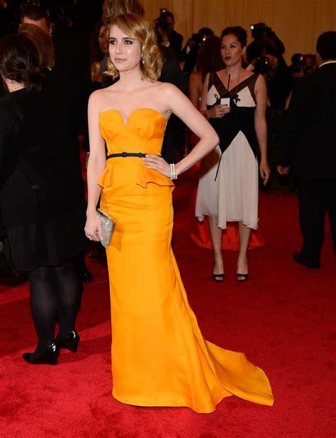 EMMA ROBERTS at Metropolitan Museum of Art's Costume Gala ...