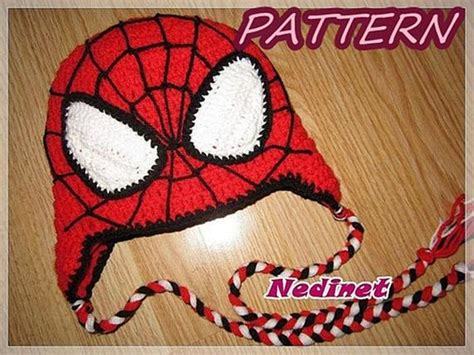 Crochet Pattern Spiderman Crochet Hat Crochet Hat Pattern