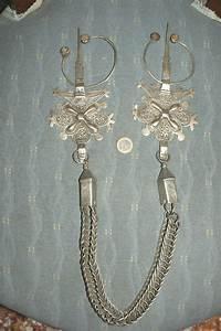 Paire de fibules berberes anciennes maroc argent bijou for Bijoux argent