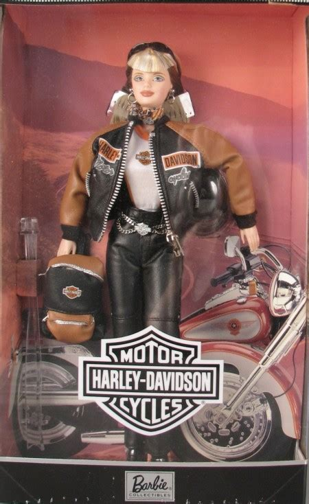 Harley Davidson Barbies by History Of Inside The Collection