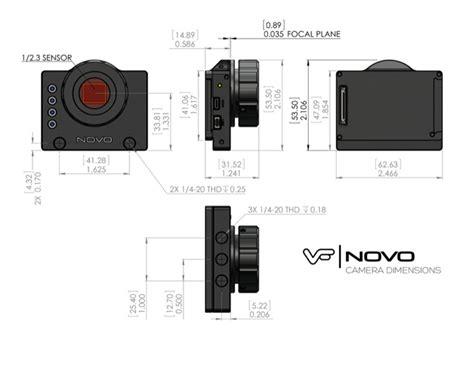 novo modified gopro hero black edition camera