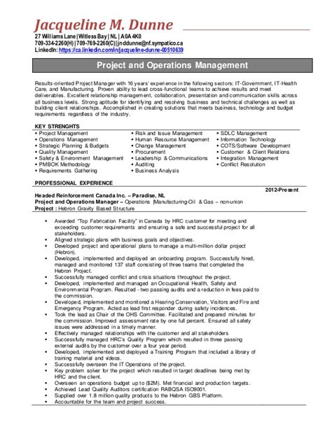 project manager accomplishments resume resume ideas