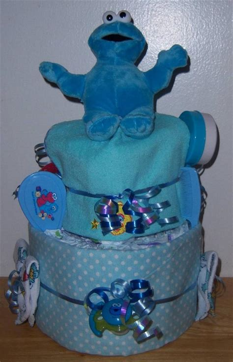sesame baby shower cake baby shower 2 tier sesame cake elmo cookie