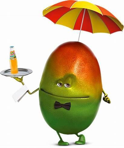Mango Funny Fruits
